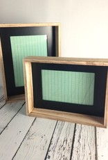 "5x7"" Wood Framed Photo Frame w/ Black Inside Edge, 7-1/2""L x 9-1/2""H"
