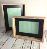 "4"" x 6"" Wood Framed Photo Frame with Black Inside Edge"