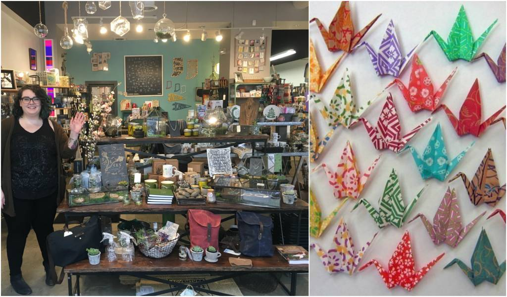 Origami Crane Workshop in Carmel this Saturday!