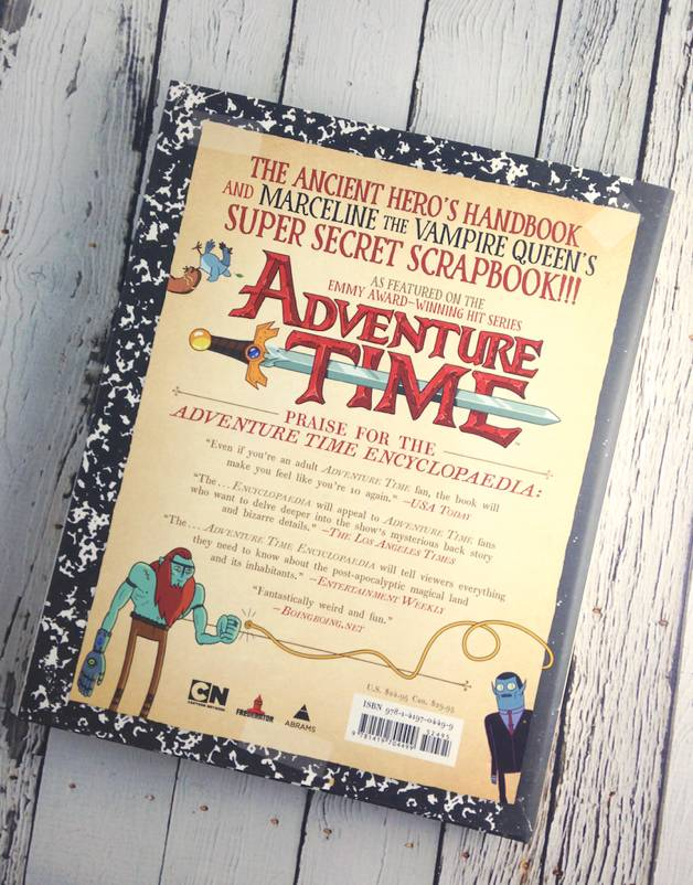 Adventure Time: The Enchiridioon & Marcy's Super Secret Scrapbook!!!
