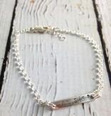 """EvanKnox Sterling Silver Handmade and Handstamped """"RESIST"""" Bracelet from Evan Knox"""