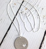 Handstamped Girl Stole My Heart Mom Necklace
