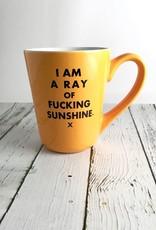 I Am A Ray Of Fucking Sunshine Mug