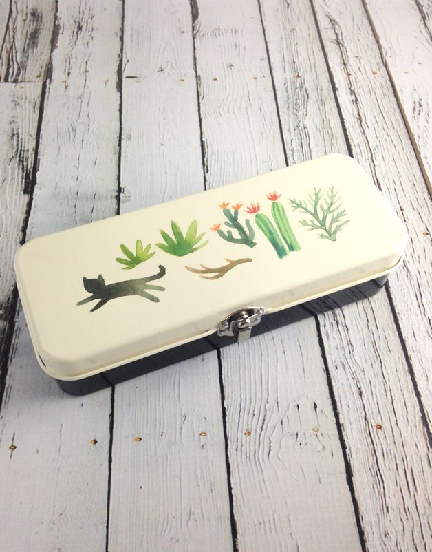 Secret Garden Pencil Box