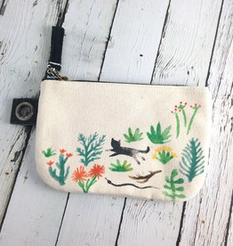Secret Garden Small Zipper Pouch
