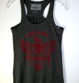 Cardinal and Hammer Made in Indiana Tank