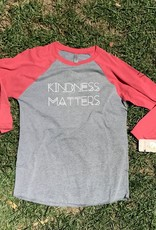 Kindness Matters Baseball Tee