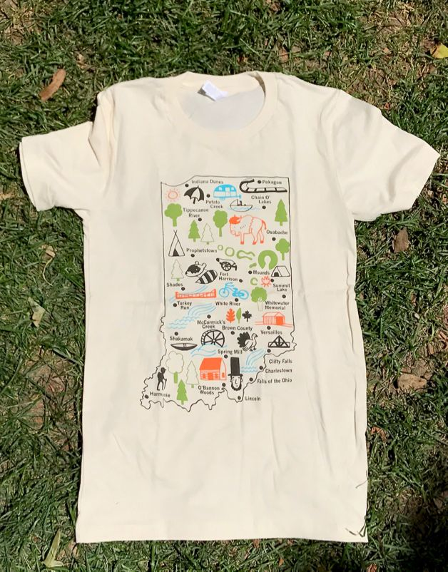 Indiana State Parks Tee