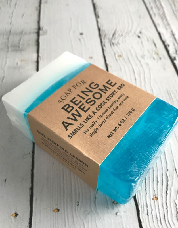 Being Awesome Soap