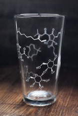 Cognitive Chemistry of Beer Pint Glass