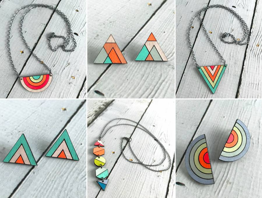 Neon Jewelry from Molly M Designs