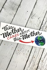 Locally Designed Mother Earth Bumper Sticker 100% of proceeds go to Hoosier Environmental Council