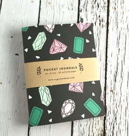 Gemstones Pocket Journals