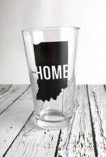 USI This is Home Pint Glass