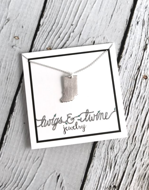 Handmade Sterling Silver Indiana Necklace