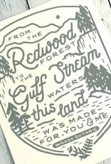 This Land Print