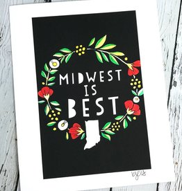 KATEO Midwest is Best 8x10 Print