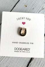 Lucky You, Horseshoe Enamel Pin
