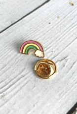 Life is Magical Rainbow Enameled Pin