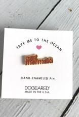 Take Me to the Ocean, Part Mermaid Enameled Pin