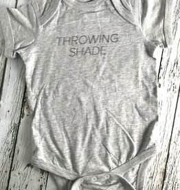 Throwing Shade Onesie 6-12 Month