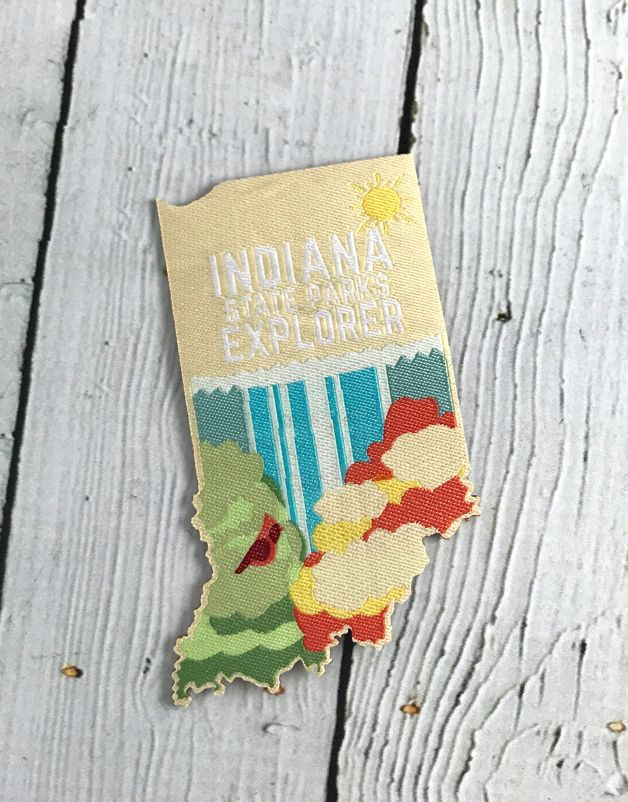 Locally Made Indiana State Park Patch by Maria Iqbal