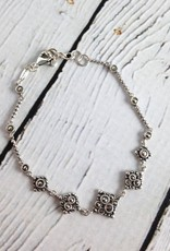 Sterling Silver and Marcasite Bracelet