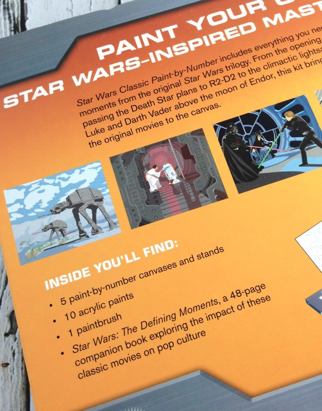 Star Wars Classic Paint-By-Numbers
