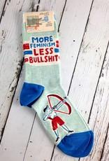 More Feminism Women's Crew Socks