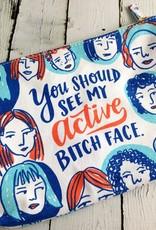 Active Bitch Face Pouch