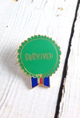 Survived Pin