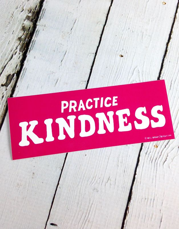 Practice Kindness Stickers