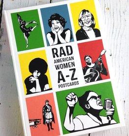Rad American Women A-Z Postcards