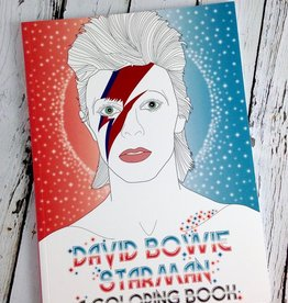 David Bowie: Starman Coloring Book