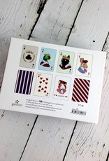 Animal Portraits Playing Card Set