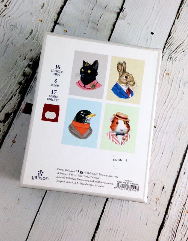 Animal Portraits Notecards