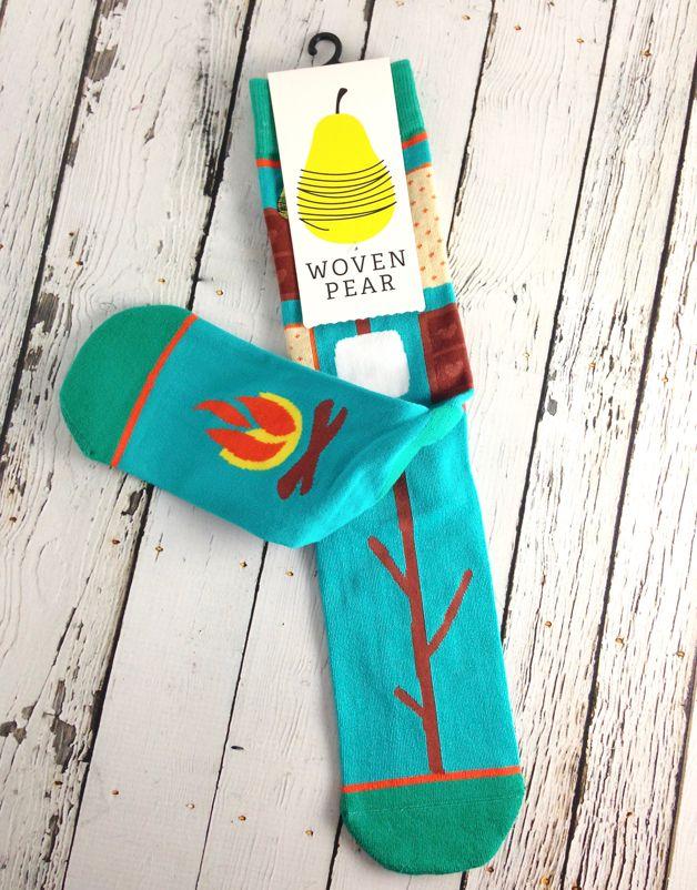 S'mores Socks