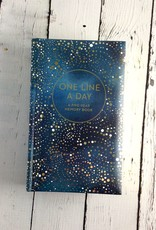 One Line a Day Journal with Celestial Cover