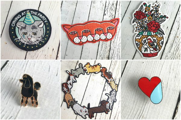Patches & Enamel Pins from Stay Home Club