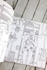 Broad City Coloring Book
