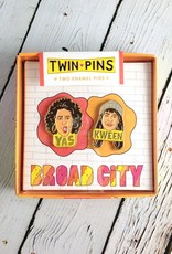 Twin Pins: Broad City