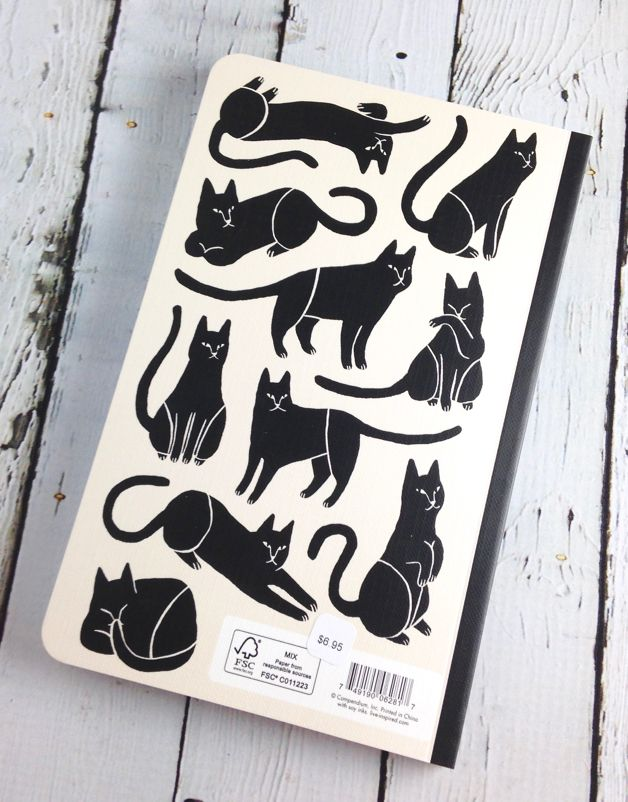 There are no ordinary cats  Write now journal