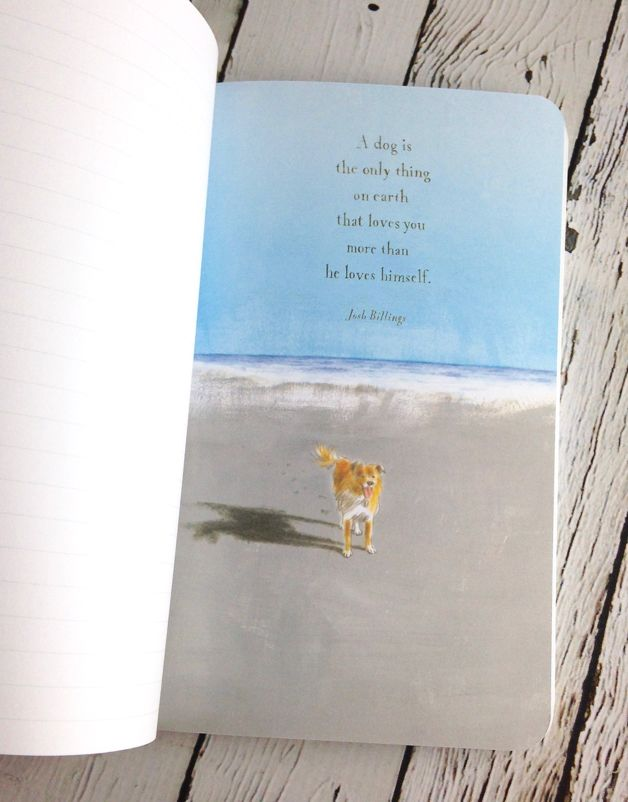 Our friend for always and always  write now Dog  journal