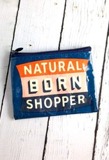Natural Born Shopper Coin Purse