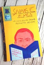 Snake Eyes Nicolas Cage Coloring Book