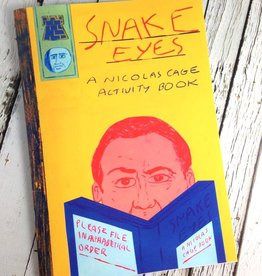 Snake Eyes Nicolas Cage Coloring Book