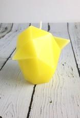Yellow Bibi Pyro Pet Candle