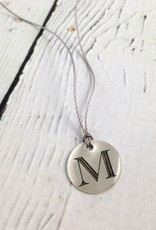 Type Inital Necklace, Pick Your Initial!