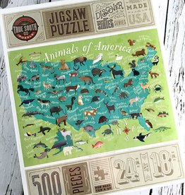 TrueSouthPuzzle Animals of America 500 Piece Puzzle