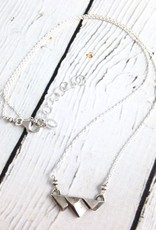 Sterling Mountain Range Necklace